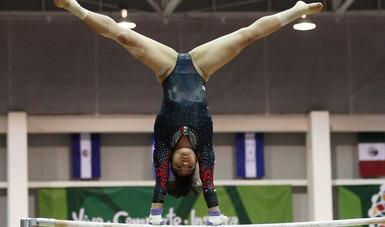 La bajacaliforniana avanzó a la pelea por las medallas de salto al finalizar en segundo lugar, con registro de 14.533 puntos.
