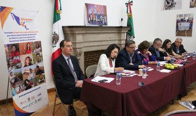 Representantes de OSC, Gobierno y Academia presentaron el proyecto Jóvenes Promesas para promover la inclusión social y educativa de estudiantes de Centroamérica
