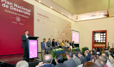 Se realizó en Guadalajara, Jalisco, el tercer Foro Estatal de Participación y Consulta para el Plan Nacional de Desarrollo