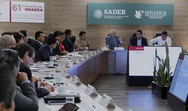 61ª Reunión Ordinaria del Sistema Nacional de Sanidad, Inocuidad y Calidad Agropecuaria y Alimentaria (Sinasica)