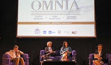 Autoridades de Italia y México celebraron el fortalecimiento de sus intercambios culturales.