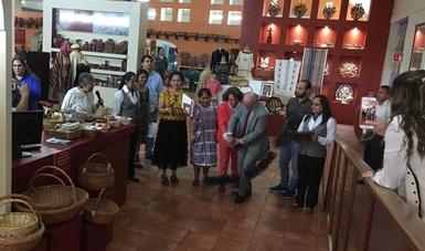 El Fondo Nacional para el Fomento de las Artesanías (Fonart) celebró el Día del Artesano