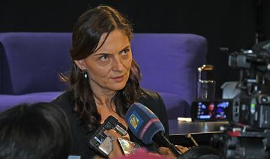 Marina Núñez advirtió que los estímulos permiten a los artistas crear en libertad.