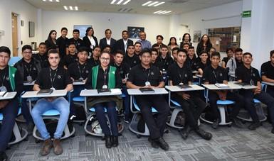 3era. Generación de alumnos CONALEP en el Programa de Becarios Mercedes - Benz