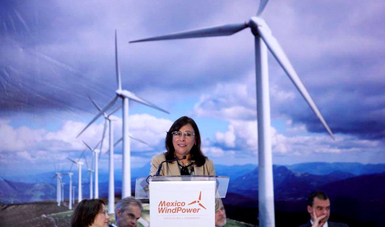 Inauguración Mexico WindPower 2019