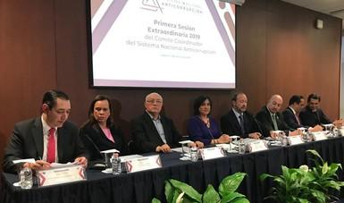 Primera Sesión Extraordinaria 2019 del Comité Coordinador del SNA.