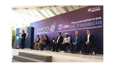 """Jóvenes lanzan 20 """"Nanosatélites Estratosféricos"""" en """"Aguascalientes al Espacio"""""""