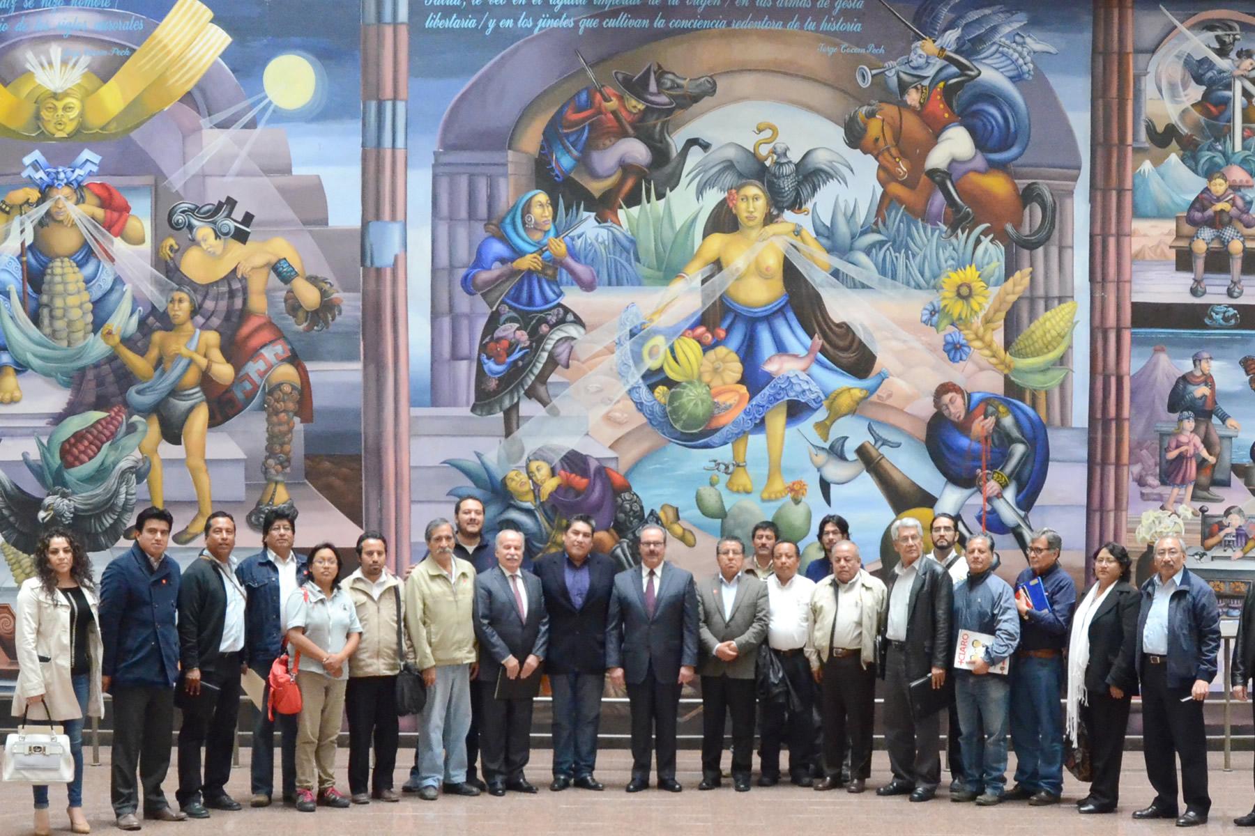 Dirigentes de organizaciones agrupadas en el Consejo Nacional de Organismos Rurales y Pesqueros (CONORP) destacaron la disposición del Gobierno de la República para establecer vías de diálogo incluyente con los productores.