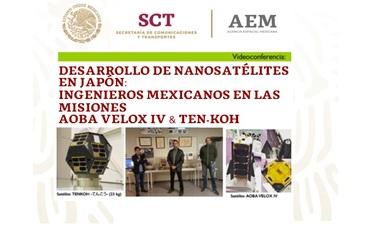 Desde Japón, tres jóvenes mexicanos compartirán conocimientos de nanosatélites