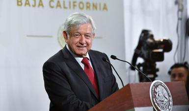 En Tijuana, presidente