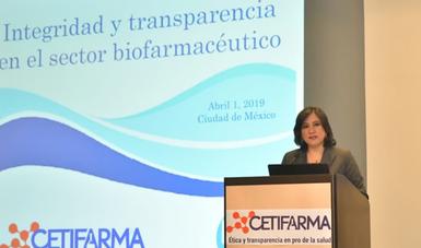 Función Pública llama a sector biofarmacéutico a promover cultura de la ética y transparencia