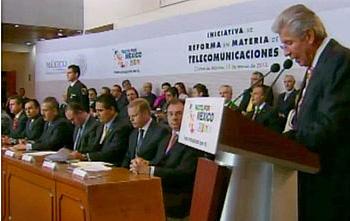 Presentación de la Iniciativa de Reforma en Materia de Telecomunicaciones