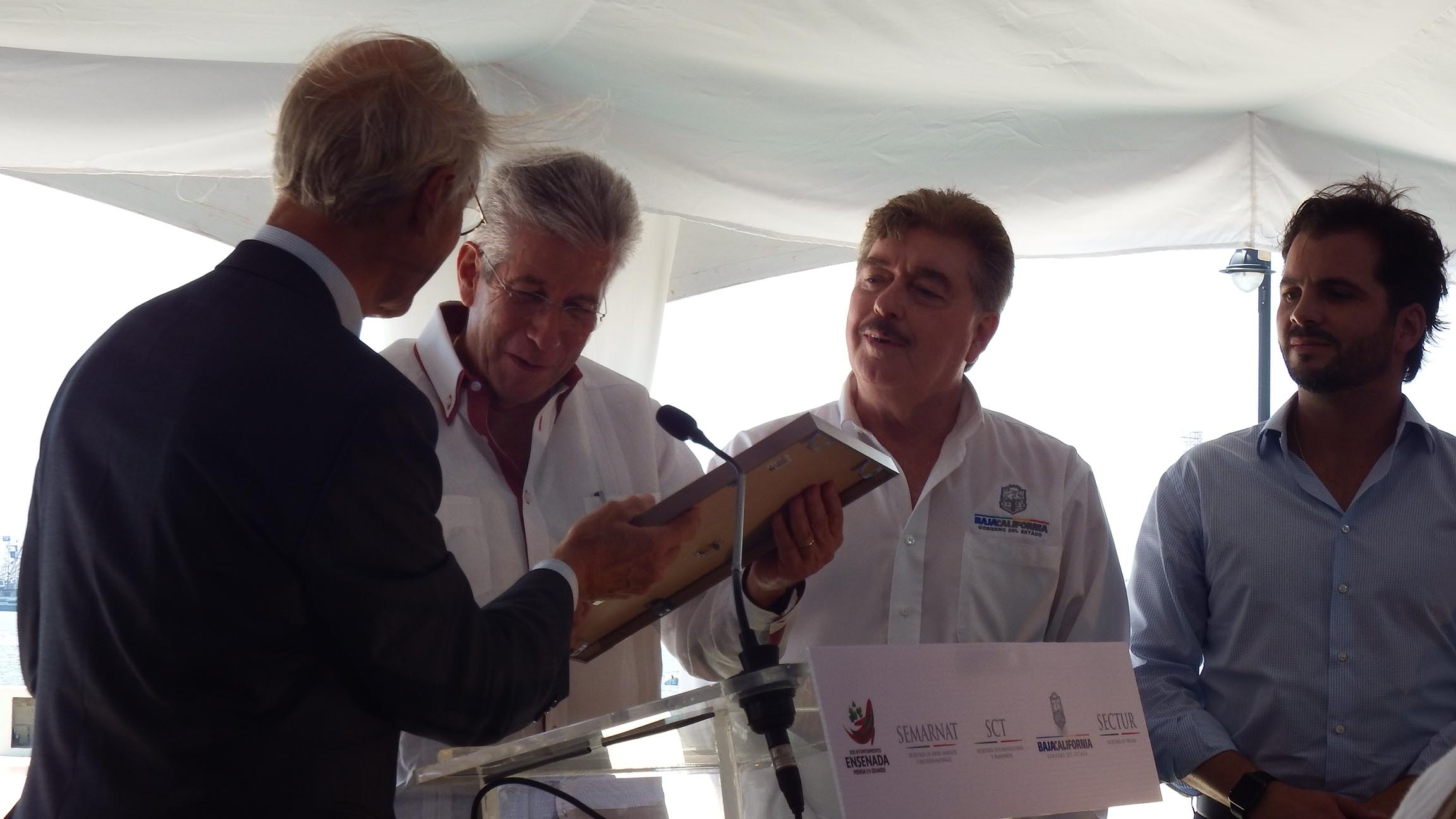Recibe GRE certificado que distingue a Ensenada como primer puerto verde del país y segundo de América Latina