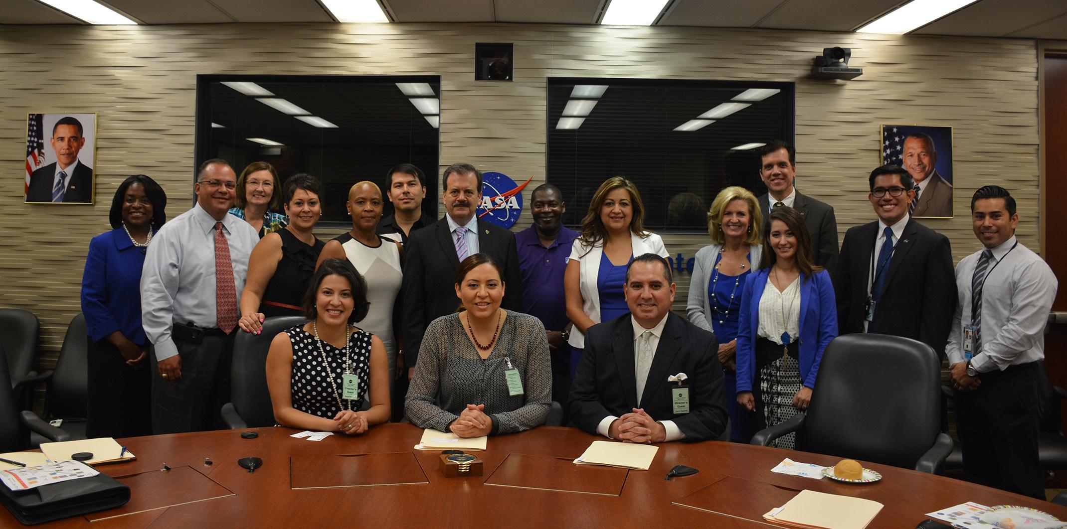Estrecha cooperación Agencia Espacial Mexicana con grupo hispano de NASA para impulsar educación espacial
