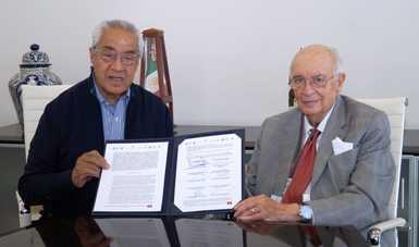 Firma Fiscalía Electoral convenio de colaboración con autoridades de Puebla por elecciones.