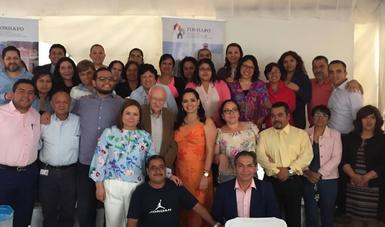 El equipo del Fideicomiso Fondo de Habitaciones Populares, cumplió 38 años de servicio a los mexicanos.
