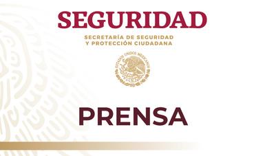 f1692952 Discurso del secretario de seguridad y protección ciudadana, Alfonso Durazo  Montaño, durante la presentación