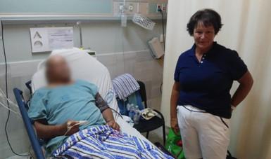 Atiende Ciudad Salud a Crucerista