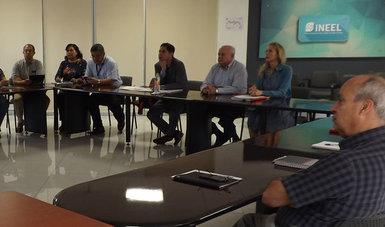 Participantes en la auditoría de vigilancia de la norma mexicana sobre igualdad laboral y no discriminación en el INEEL.