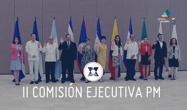 La Comisión Ejecutiva abordó temas relacionados con la XVII Cumbre de Tuxtla