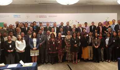 Las y los participantes se comprometieron a facilitar el intercambio de información que permita hacer frente a los retos ambientales y de salud que conlleva el uso de sustancias peligrosas.