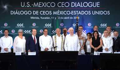 Secretaria Sandoval Ballesteros delinea ejes del combate a la corrupción frente a sector privado de México y EE UU