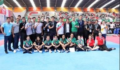 La selección sumó ocho preseas de oro, siete medallas de plata y cinco metales de bronce.