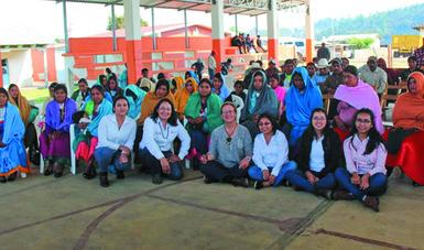 La Secretaria se reunió con pobladores de los ejidos Tzajalá y Balhuitz y Tzajalá Balhuitz (Yashlumiljá) y les refrendó su apoyo en las tareas que realizan para conservar sus bosques.