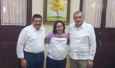 Secretaría de Bienestar, María Luisa Albores González en Tabasco