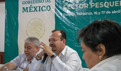 El titular de la Conapesca, Raúl Elenes Angulo, atiende encomienda del presidente Andrés Manuel López Obrador de reunirse directamente con el sector productivo pesquero nacional.