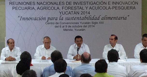 Anuncian INIFAP y gobierno de Yucatán foro nacional de ciencia y tecnología en sector agroalimentario