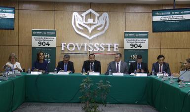El Vocal Ejecutivo, Agustín Gustavo Rodríguez López, presidió la Sesión Ordinaria 904 de la Comisión Ejecutiva de este organismo