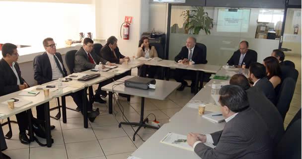 Funcionarios de ASERCA se reunieron con una misión del Ministerio de Agricultura de Honduras
