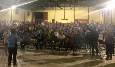 Consulta libre, previa e informada a la comunidad indígena de Xaltocan, ubicada en el Estado de México.