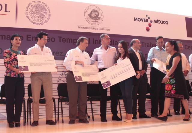 SEDESOL apoya a comerciantes de Oaxaca afectados por las recientes protestas sociales