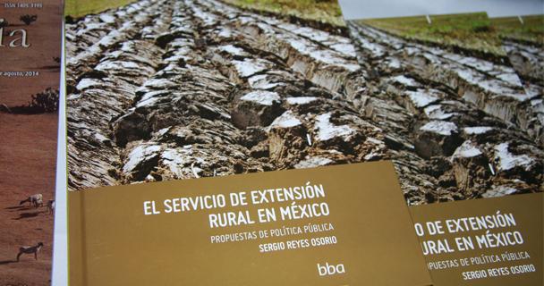 """libro """"El Servicio de Extensión Rural en México"""""""