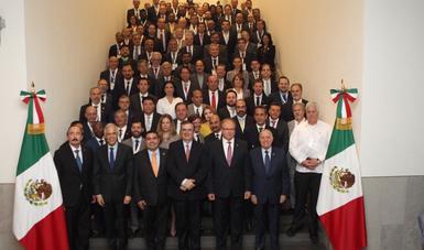 Reunión de la Asociación Mexicana de Secretarios de Desarrollo Económico con el Cuerpo Diplomático acreditado en México