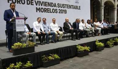 El Vocal Ejecutivo, Agustín Gustavo Rodríguez López destaca las tareas del FOVISSSTE para al fortalecimiento económico de nuestro país