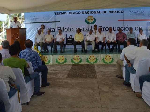 Con el respaldo de la SAGARPA y el CONACYT, esta infraestructura se ubica en las instalaciones del Instituto Tecnológico de Veracruz  y se espera que tenga una producción promedio de 100 a 300 litros de etanol anhidro por día.