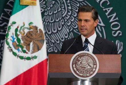 El Presidente de la República, Enrique Peña Nieto, expresó su reconocimiento ante la detención de quien fuera Presidente Municipal de Iguala y de su esposa.