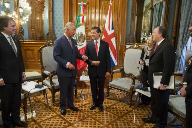 El Presidente de la República, Enrique Peña Nieto y Su Alteza Real, Carlos, Príncipe de Gales, anunciaron hoy el Año Dual México-Reino Unido.