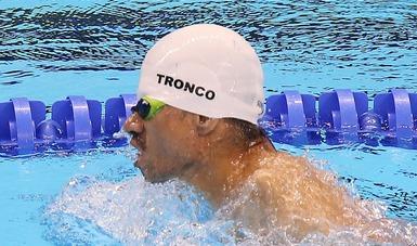 El tritón registró un tiempo de 3 minutos 45 segundos y 05 centésimas en la final de 150 metros combinado individual.