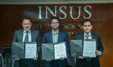 Funcionarios de los tres órdenes de gobierno firmaron un convenio de colaboración para avanzar en la implementación del Programa de Mejoramiento Urbano en Nayarit.