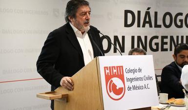 FONATUR presente en el Colegio de Ingenieros Civiles de México.