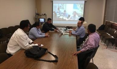 Reunión con directivos del CIRNO para evaluar avances sobre cultivo de garbanzo