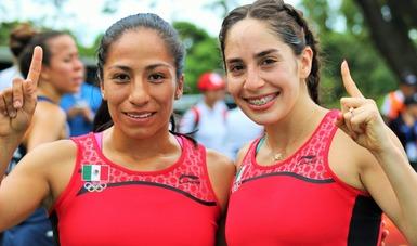 Mayan Oliver, Tamara Vega y Mariana Arceo se ubicaron dentro de las 36 que pelearán por las medallas.