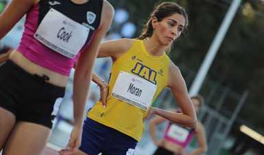 La jalisciense no ha solicitado por escrito el apoyo a la CONADE para avalar la marca en los 400 metros planos que registró en la Olimpiada Nacional 2019.