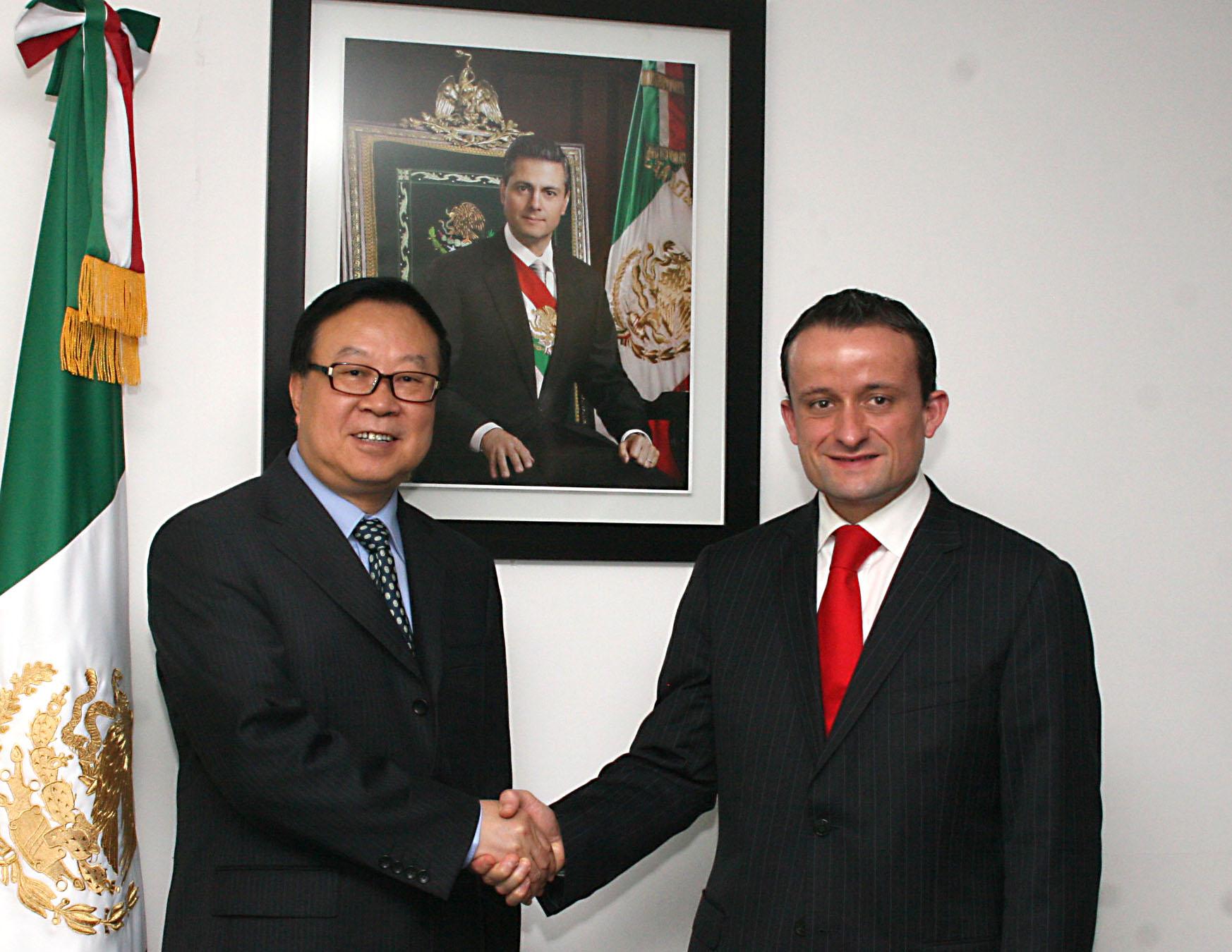 Las agencias sanitarias de México y China acuerdan fortalecer la cooperación