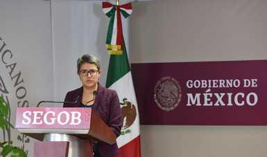 A 100 días de iniciada la gestión de la Comisionada Nacional de Búsqueda de Personas, Karla Quintana Osuna, presentó un informe de las acciones realizadas en coordinación con las familias y autoridades de los tres órdenes de gobierno.