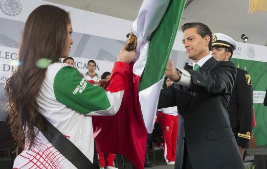 """""""México tiene en sus jóvenes una gran fortaleza como nación: cada deportista, estudiante, artista o emprendedor es, sin duda, un agente de cambio, un agente de transformación""""."""